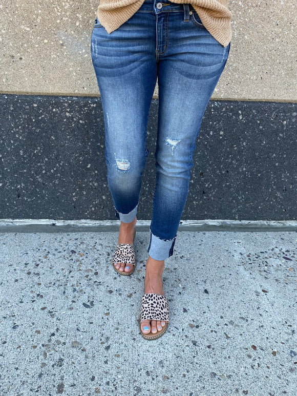 Channa Low Rise Ankle Skinny