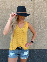 Crochet sleeveless sweater top