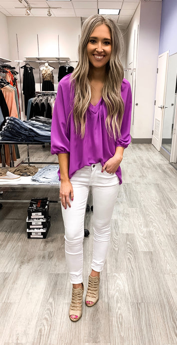 Light Purple Light Weight Top