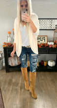 Soft Pocket Cardigan with Batwing Sleeve- 3 colors