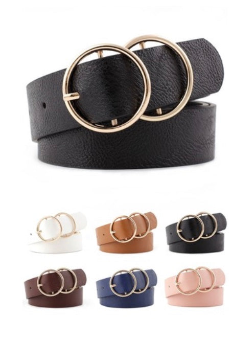 Double O Belts- 4 Colors
