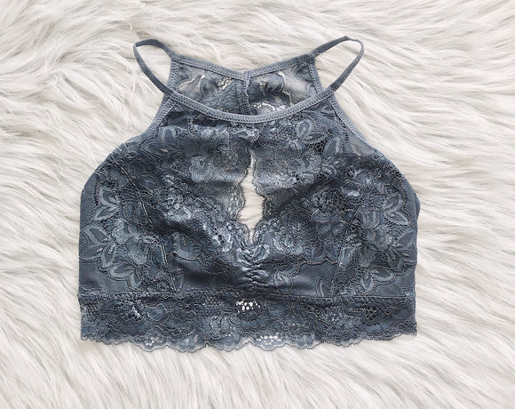 High Neck Bralette