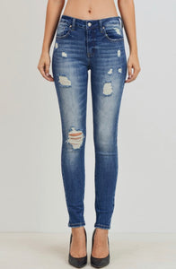 Medium Distressed Skinny Jeans