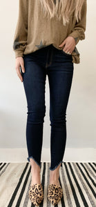 Brittney High Rise Ankle Skinny KanCan
