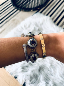 Gold Chain Eyeball Bracelet
