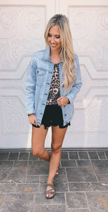 Kendall + Kylie Denim Jacket