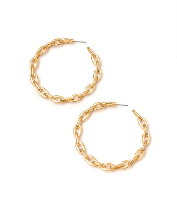 Chain Link Earrings- 2 Colors