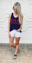 Distressed Navy USA Tank