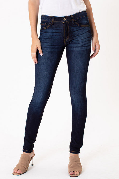 Naomi Mid Rise Skinny Jeans