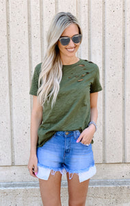 Distressed Tshirt