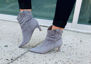 Grey Louie Bootie Boot