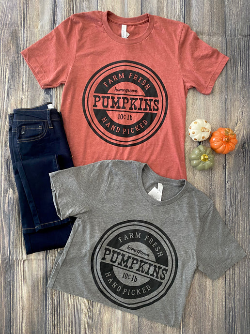 Farm Fresh Pumpkins Graphic Tshirt