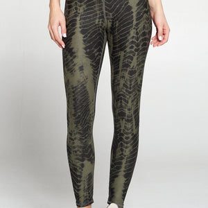 Brianna - Deep Agave Linear Mix Full-Length (High-Waist)