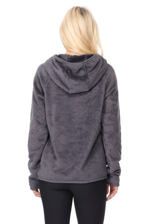 Colleen - Grey Hoodie w Pockets Activewear