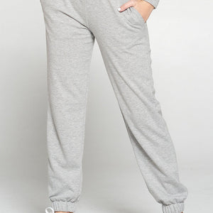 Dua - Heather Grey Sweatpants