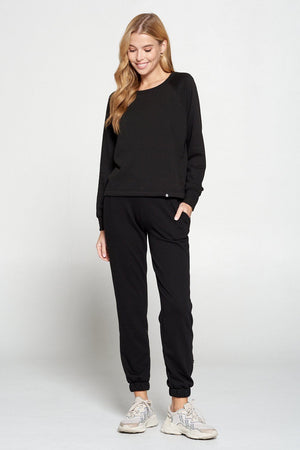 Gigi - Black Sweatshirt Activewear