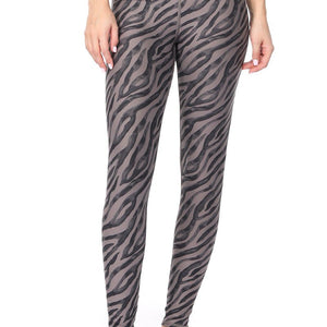 Jinni - Zebra Flair Wet Sand Full-Length (Regular-Waist)