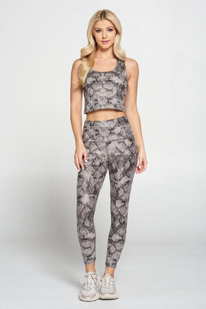 Kendall - Paloma Compression Crop Tank Activewear