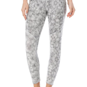 Liz -Glacier Grey w Pockets 7/8 Legging