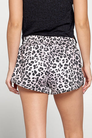 Pia - Cheetah Airbrush Running Shorts Activewear