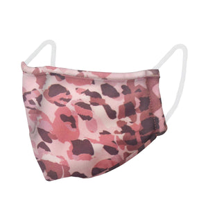 unisex, mask, pink, camo, camoflauge, preventative, face covering