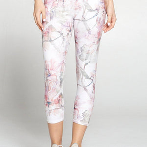 Rachel - Light Spring Wonderland Capri (Regular-Waist)