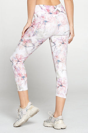 Rachel - Light Spring Wonderland Capri (RW) Activewear