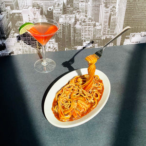 Vintage Frozen Moments Spaghetti and Cosmo