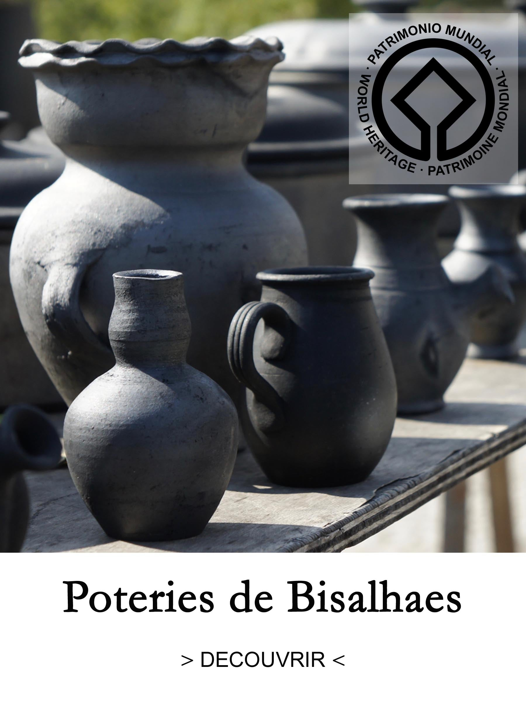 Poteries noires du Portugal - Bisalhaes