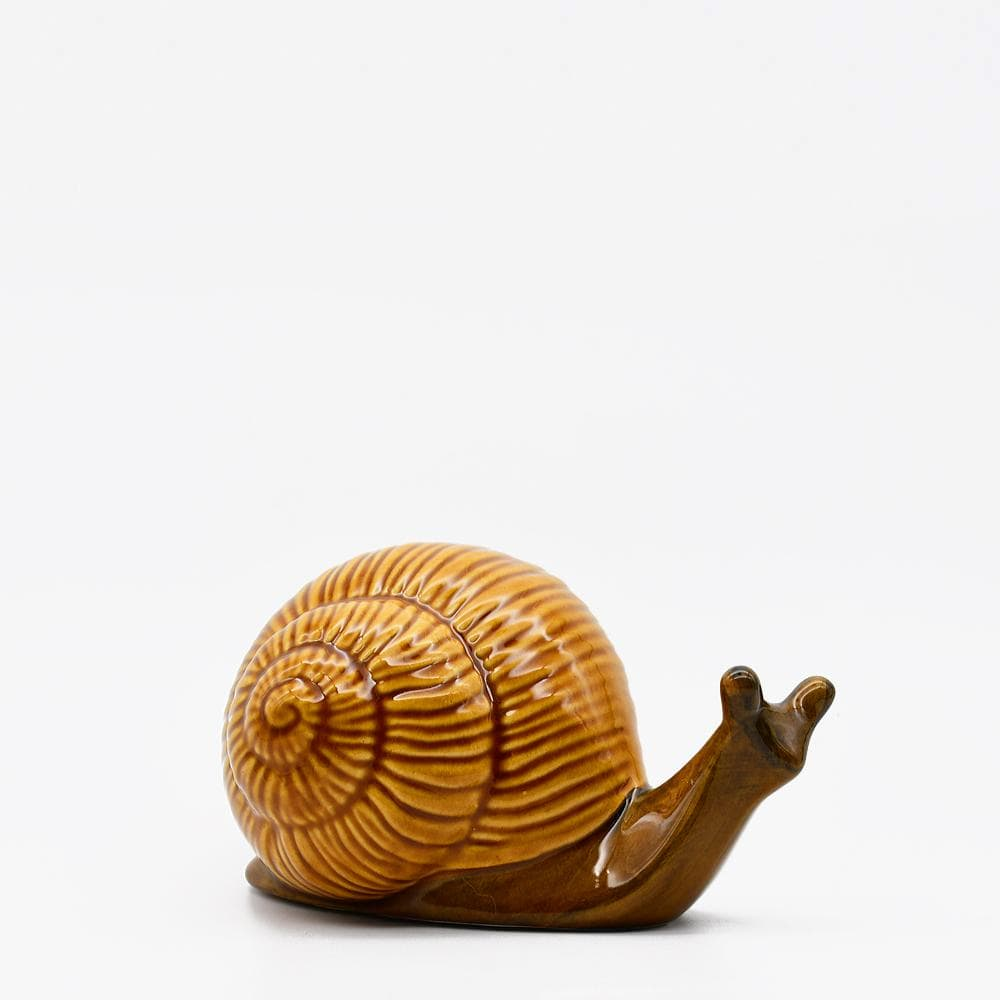 Escargot en céramique I Décoration portugaise traditionnelle Escargot en céramique - 17 cm