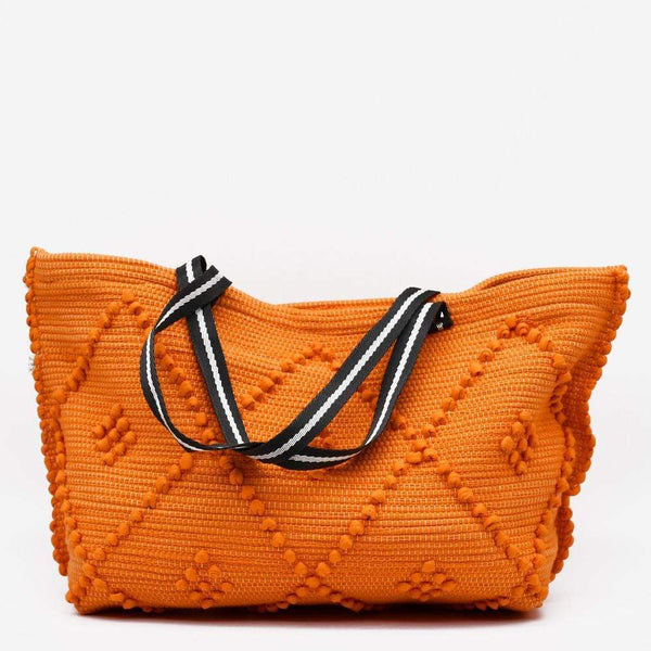 Luisa Paixao Sac à main porté épaule - Orange