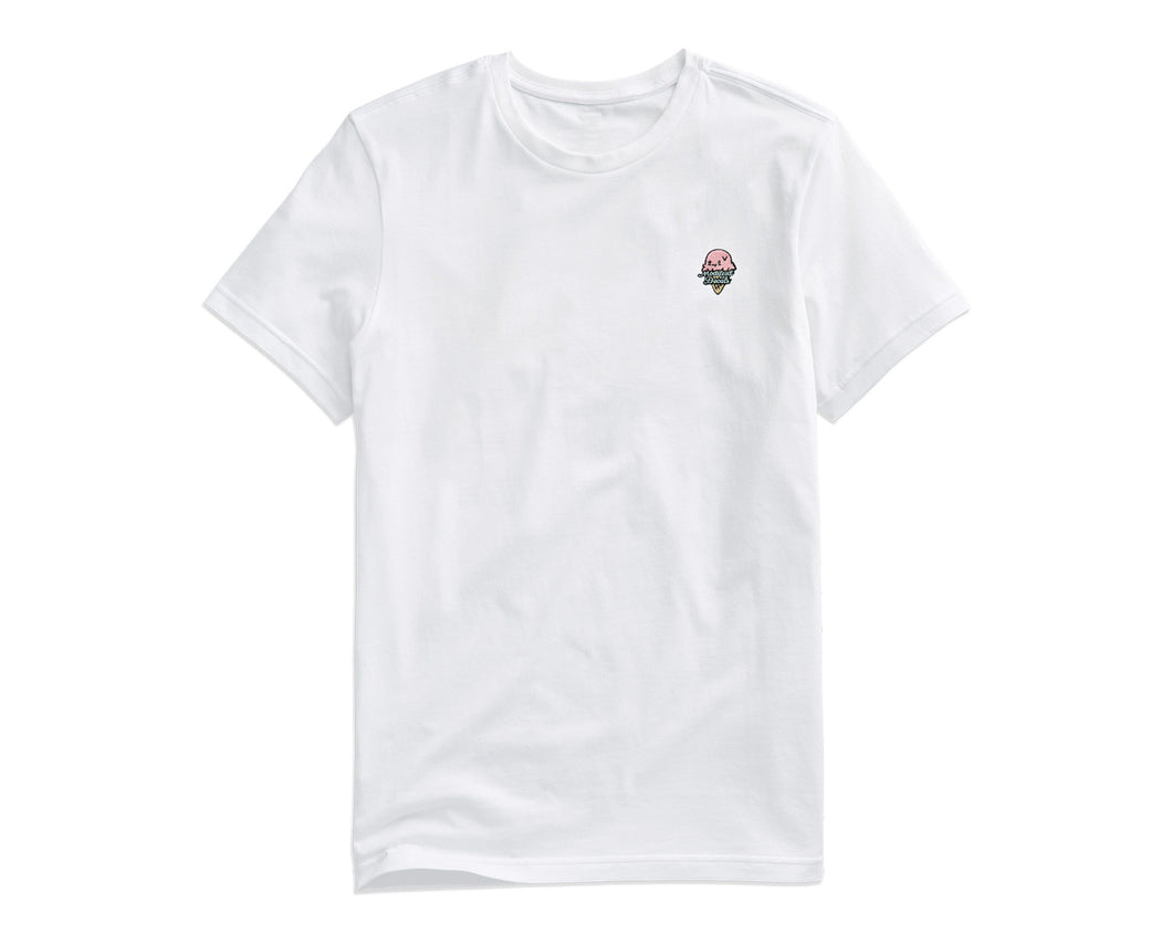 Modified Decals Kawaii White T-Shirt
