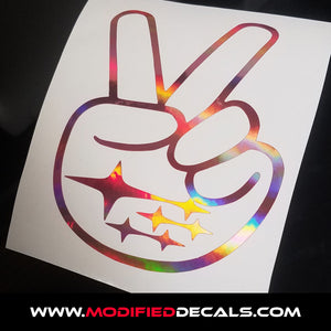 Subie Peace Decal