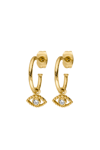 Earrings - 18k gold plated