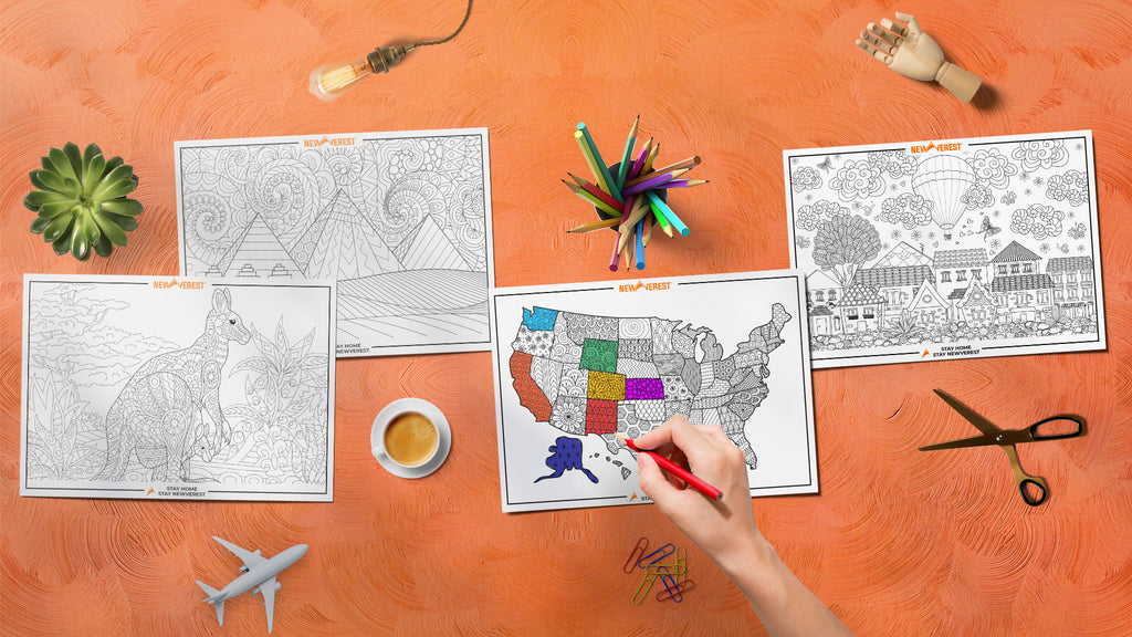 FREE Travel-Inspired Coloring Pages, Part II