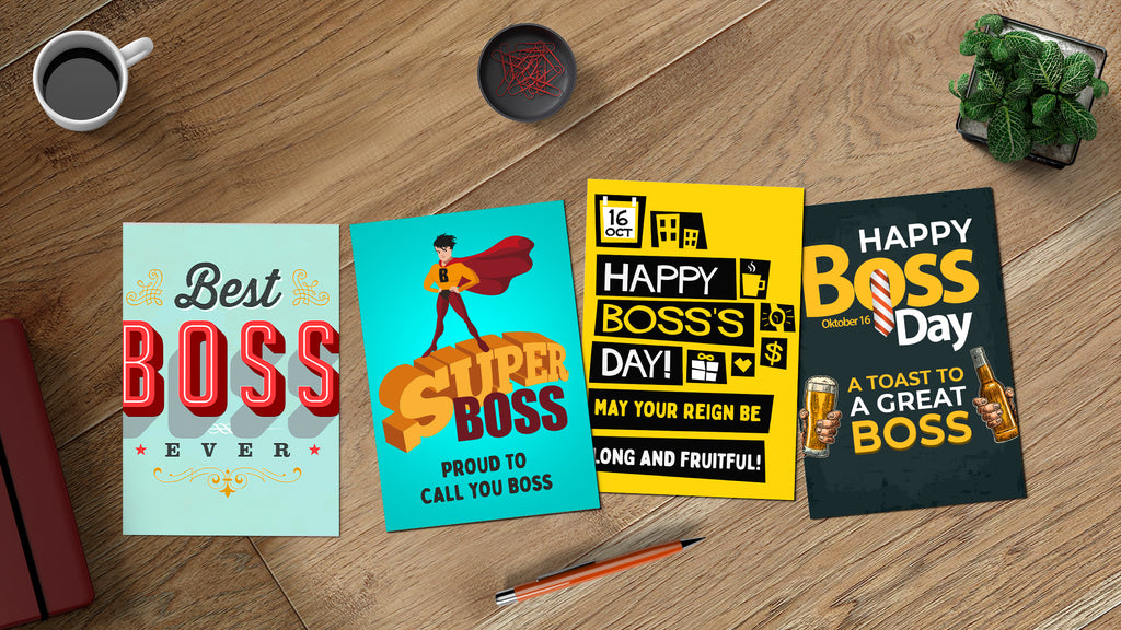 FREE Boss's Day Greeting eCards!