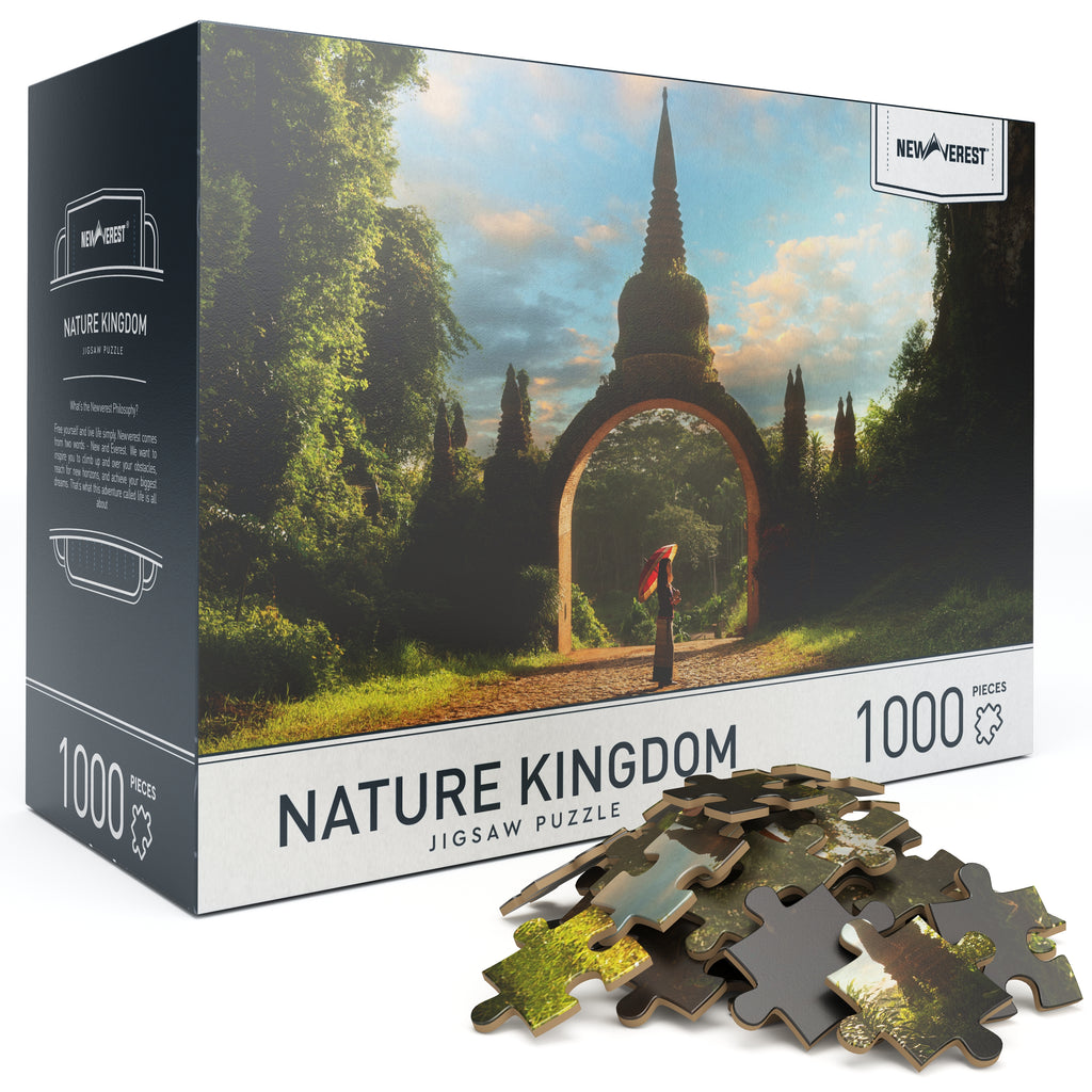 Newverest Nature Kingdom Jigsaw Puzzle 1000 Pieces