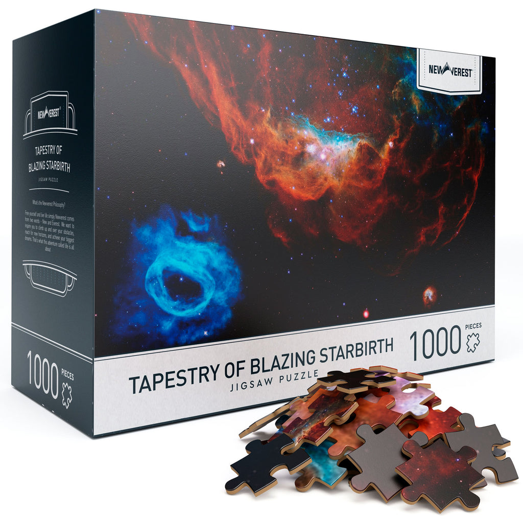 Newverest Tapestry of Blazing Starbirth Jigsaw Puzzle 1000 Pieces