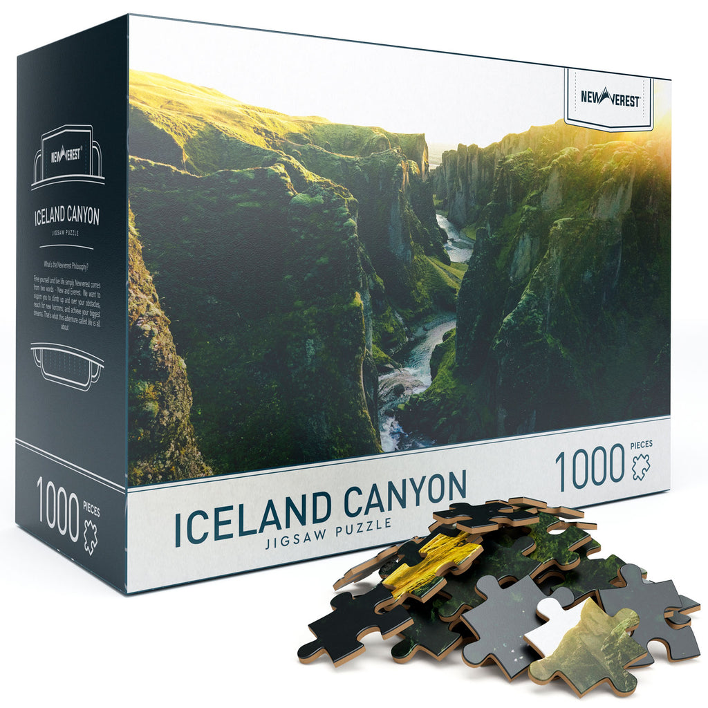 Newverest‌ ‌Iceland‌ ‌Canyon‌ ‌Jigsaw‌ ‌Puzzle 1000 Pieces