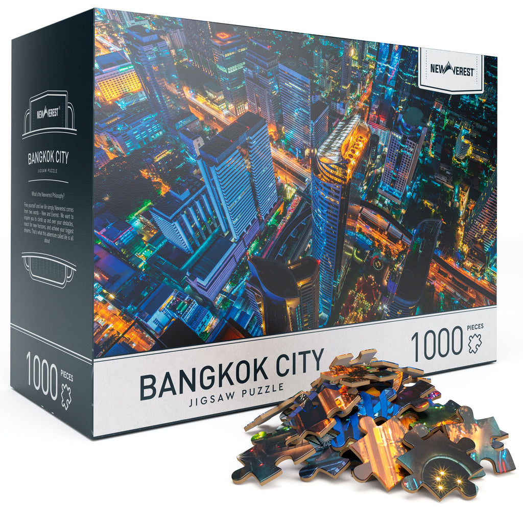 Newverest Bangkok City Jigsaw Puzzle 1000 Pieces