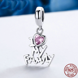 Charm Berloque I Love My Family - importadostore