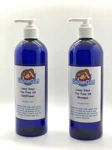 Tea Tree Oil Lice Shampoo and Conditioner - 16oz
