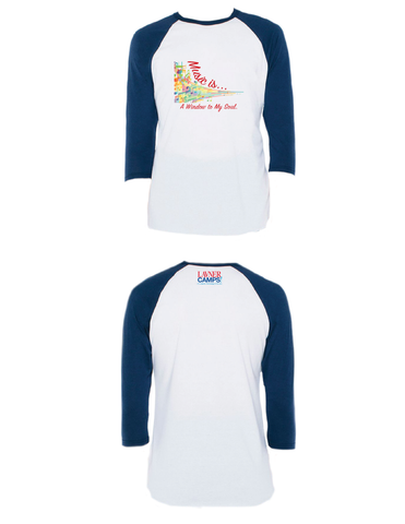Music Is... Raglan 3/4 (Adult)