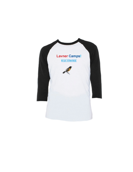 Baltimore Raglan 3/4 (Adult)