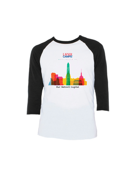 DC Skyline Raglan 3/4 (Youth)