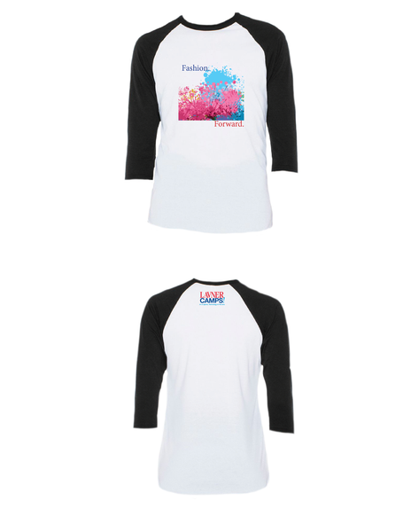 Fashion Forward Raglan 3/4 (Youth)