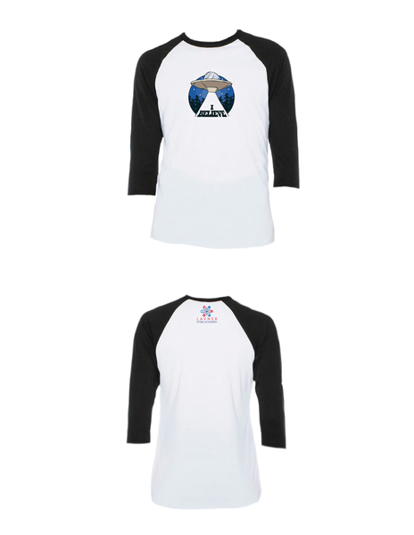 I Believe Raglan 3/4 (Youth)