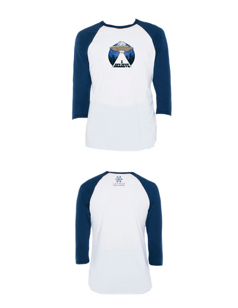 I Believe Raglan 3/4 (Adult)
