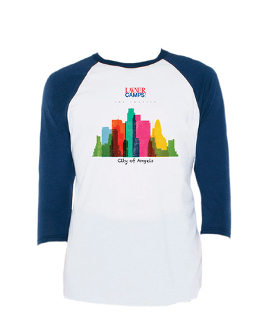 LA Skyline Raglan 3/4 (Adult)