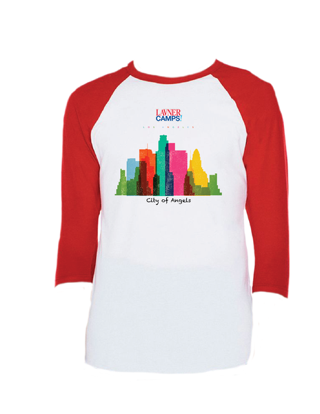 LA Skyline Raglan 3/4 (Youth)